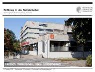 Bericht Studiendekan Fachbereichratssitzung vom 18.12.2007 ...
