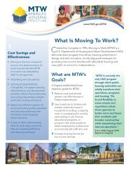 What Is Moving To Work? - San Antonio Housing Authority