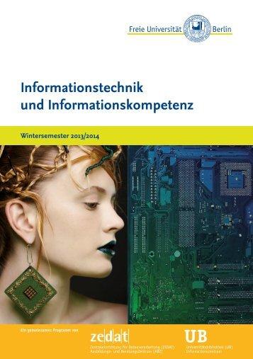 UB - Zedat - Freie Universität Berlin