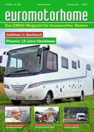 Das EMHC-Magazin für niveauvolles Reisen
