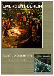 full program - Das Baumhaus