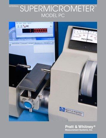 External Supermicrometer - Pratt & Whitney