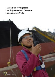 Guide to WSH Obligations for Shipmasters and Contractors for ...