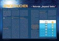 Apnoetauchen - Österreichische Gesellschaft für Unterwasser