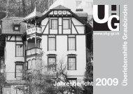 Überlebenshilfe Graubünden Jahresbericht - Verein Überlebenshilfe