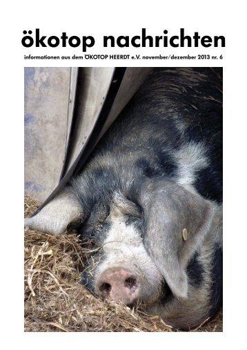 November/Dezember - Ökotop Heerdt