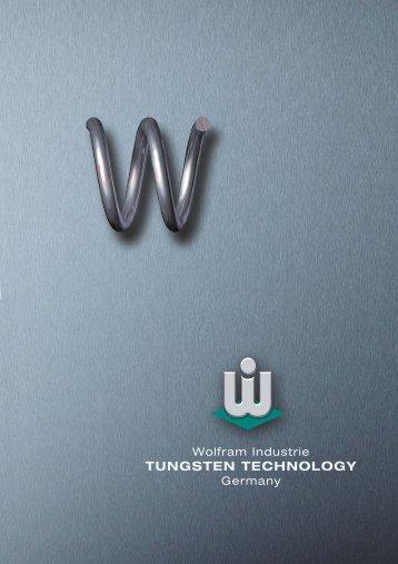 TUNGSTEN TECHNOLOGY - Wolfram Industrie