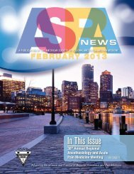 February, 2013 - American Society of Regional Anesthesia and Pain ...