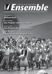 Richard Rost Das Projekt «Bergsturzoper» Die Präsenz des ... - SBKV