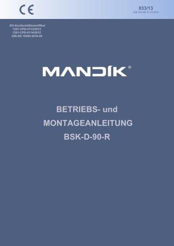 Betriebsanleitung [pdf] - mandik.de