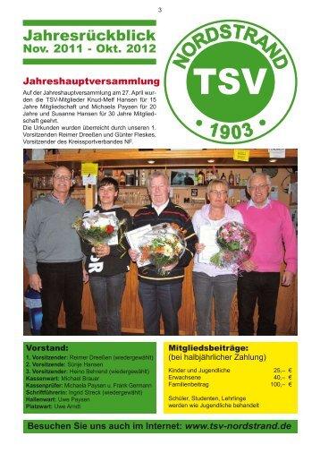 Jahresrückblick - TSV Nordstrand 03
