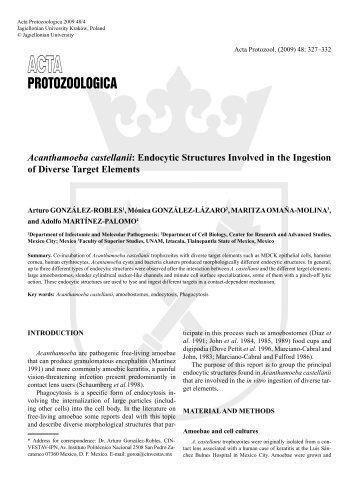 Protozoologica