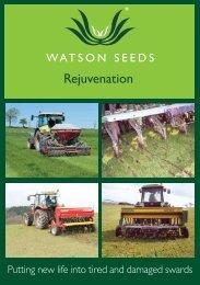 Rejuvenation - Watson Seeds