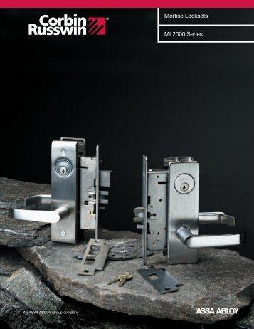 Corbin Russwin ML2000 Series - Vineyard Levers and Locks