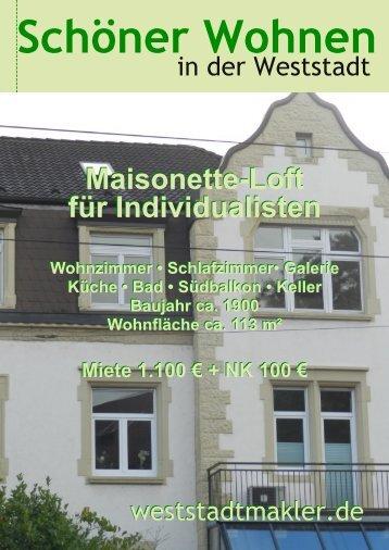 Maisonette-Loft für Individualisten Maisonette-Loft für Individualisten