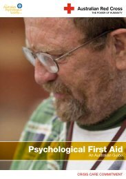 Psychological First Aid: An Australian Guide