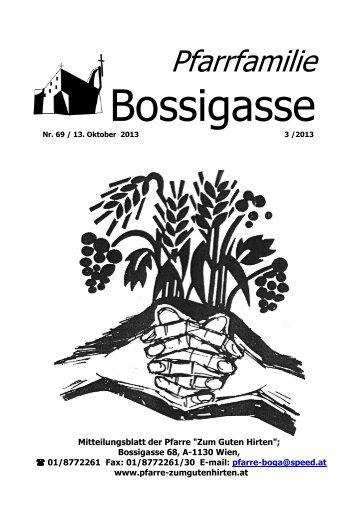 Ausgabe 3/2013 - der Pfarre Zum Guten Hirten