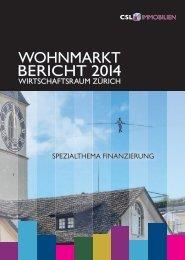 Wohnmarktbericht 2014 - Presseportal.ch