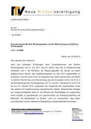 BBr-2013-08 NRV LV Bln Evaluierung Richtergesetz Bln Stn - Neue ...