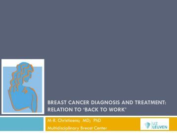 Breast cancer diagnosis treatment