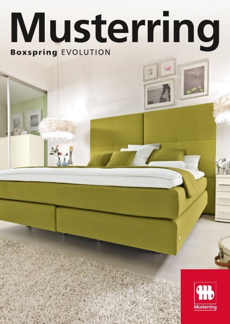Boxspring Evolution Musterring International