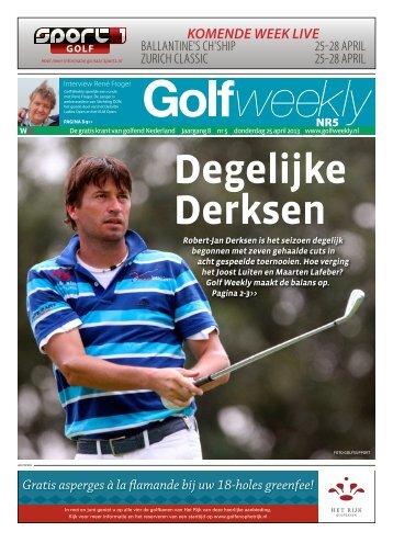Golf Weekly 2013 editie 05