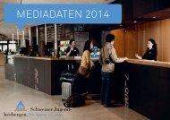 Mediadaten 2014 (PDF, 7.42 MB) - Schweizer Jugendherbergen
