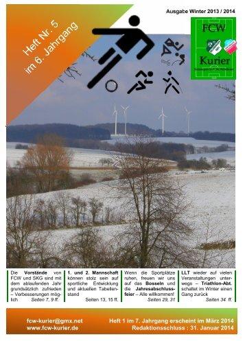 Download von Heft 2013 / 5 - fcw-kurier.de