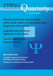 Issue 87 - Psychology Postgraduate Affairs Group