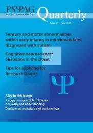 Issue 87 - Psychology Postgraduate Affairs Group