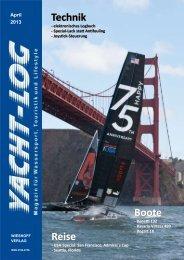 geringere Bildqualität, ca. 6 MB - Yacht-Log