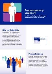 UNICO Flyer Prozessberatung - UNICO Media