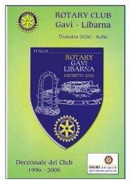 Bollettino n.12 del mese di giugno 2005. scarica il PDF - Rotary Gavi ...