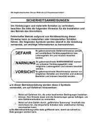 Bedienungsanleitung deutsch - JS-Technik GmbH