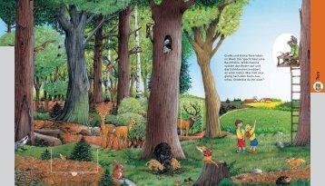 Große und kleine Tiere leben im Wald: Der ... - Kinderbrockhaus
