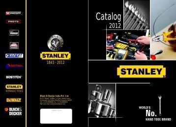 Stanley 2012 Catalog - Print version