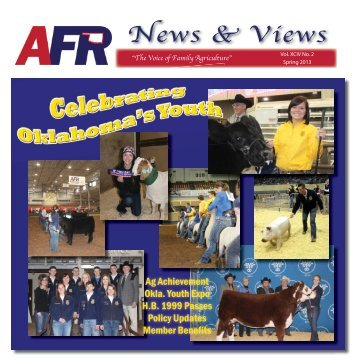 AFR News & Views - American Farmers & Ranchers