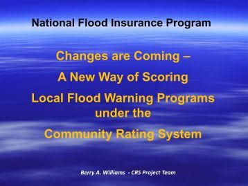 Changes are Coming – A New Way of Scoring Local Flood Warning ...