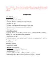 33. Bacterial diseases-E.coli-Coryza-Salmonellosis ... - TNAU