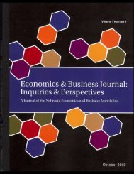 Economics & Business Journal: - EcEdWeb