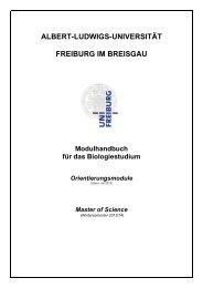 Modulbeschreibungen Orientierungsmodule (WS 2013/14)