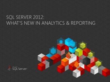 Managed Self Service BI – Corporate BI - BI Forum 2012