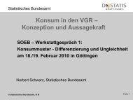 Struktur der Konsumausgaben privater Haushalte - soeb.de