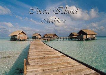 Brochure Voyage De Noces Maldives Cocoa Island