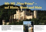 mit MS Vista Prima der Romantik entgegen - im SeereisenPortal