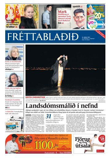 Landsdómsmálið í nefnd - Vísir