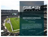 Merchandise Style Guide - Supervisors - Lincoln Financial Field