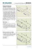 Eiinnbauanleitung für Anlagenreihe - Igloo - Seite 4
