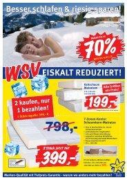Besser schlafen & riesig sparen!