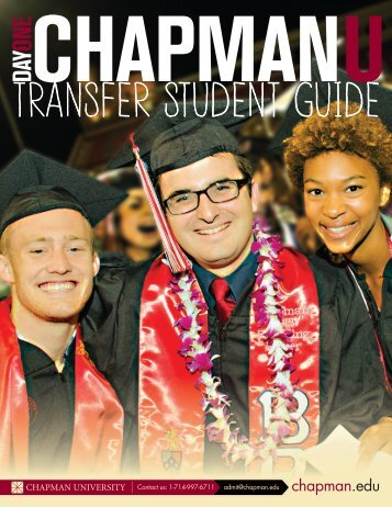 Transfer Brochure - Chapman University